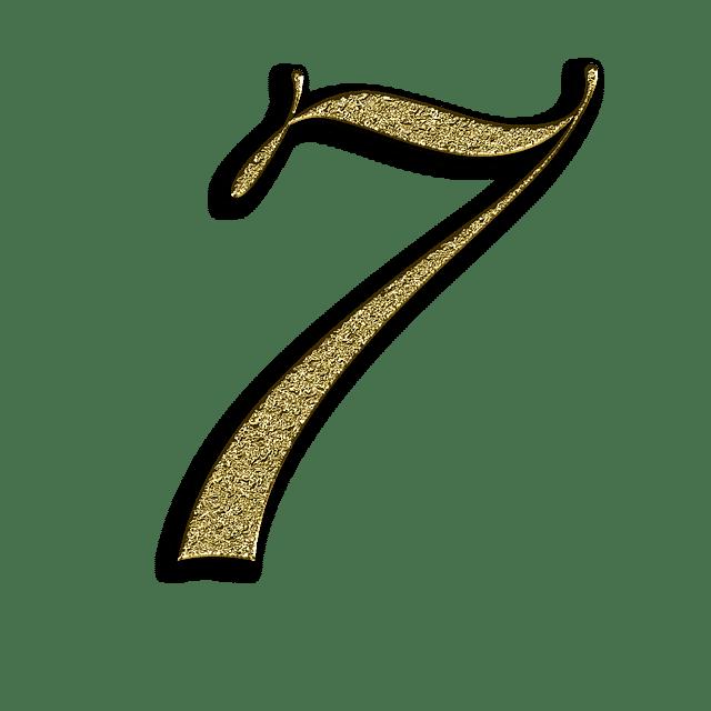 Số 7 xuất hiện 3 lần trong biểu đồ ngày sinh có nhiều ưu điểm